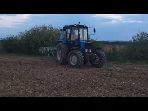 Обзор Трактора Беларус 892.2 - YouTube