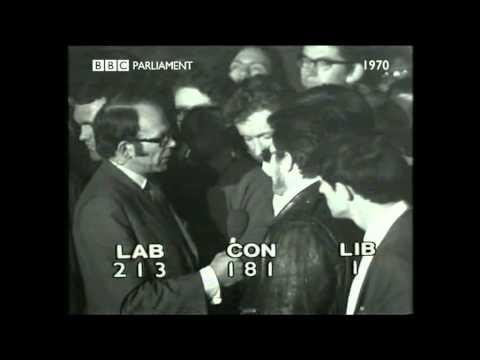 BBC Election 1970 Oxford Student Giles Brandreth