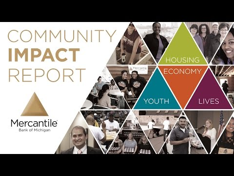 Community Impact Report - Mercantile Bank