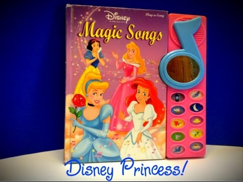 Disney Princess Magic Song Book
