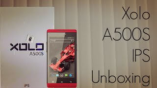 Xolo A500S IPS Unboxing - Budget Smart Phone - Advices Media