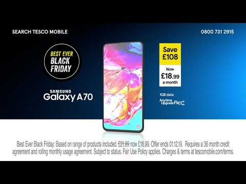 Tesco Mobile | Advert | Samsung A70