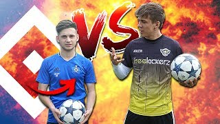 FUßBALL CHALLENGE GEGEN HSV SPIELER