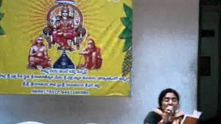 Appaji Bhajans by usha at Kanchi Paramacharya Jayanthi-2011-hyd
