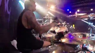 "Art Cruz - PRONG - ""Sense Of Ease"" (Drum Cam) Vienna, Austria"