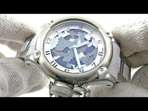 Invicta Russian Diver CAMO Wrist Watch Model 11531
