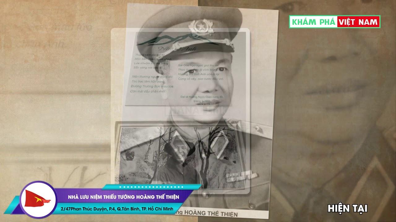Nha Lưu Niệm Thiếu Tướng Hoang Thế Thiện Thanh Phố Hồ Chi Minh L Kham Pha Việt Nam Youtube