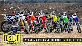 2018 Vital MX 450 Shootout