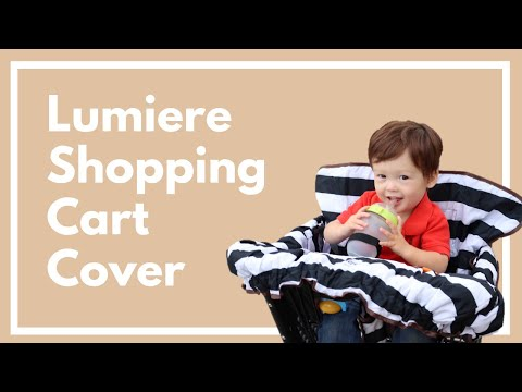 Shopping Cart Cover for Baby and Toddler by Lumiere Baby