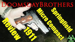 Honey, I Shrunk the 1911 - Springfield Micro Compact (EMP) .45 ACP Review