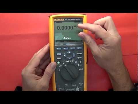 Multimeter Review / buyers guide: Fluke 287 / 289 data logging multimeter
