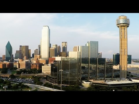 Various Texas cities, buildings, and landmarks.