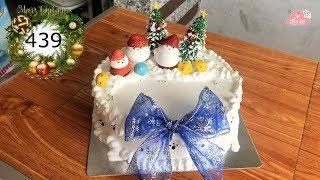 chocolate cake decorating bettercreme vanilla (439) Học Làm Bánh Kem Đơn Giản Đẹp - Noel (439)
