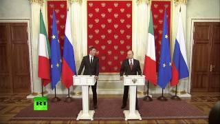 Заявление Владимира Путина и председателя Совета министров Италии(, 2015-05-08T17:41:33.000Z)