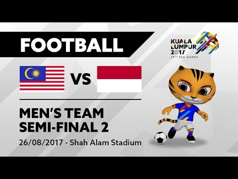 KL2017 29th SEA Games | Men's Football - SEMI-FINALS 2 - MAS 🇲🇾 vs INA 🇮🇩 | 26/08/2017