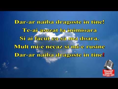 DAR-AR NAIBA IN TINE DRAGOSTE, KARAOKE, STIL ETNO DANCE
