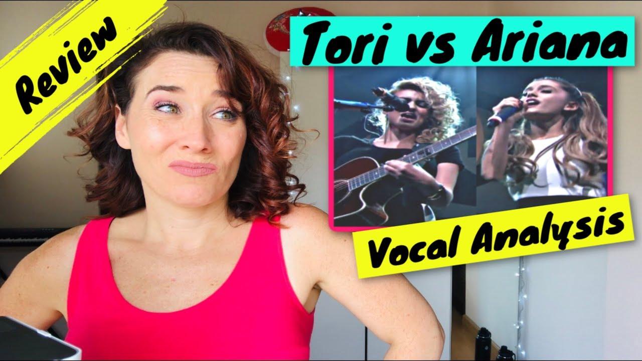 ARIANA GRANDE versus TORI KELLY | Vocal Coach Reaction WOW!!!