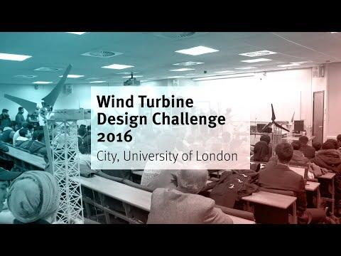 Wind Turbine Design Challenge 2016 City, University of London