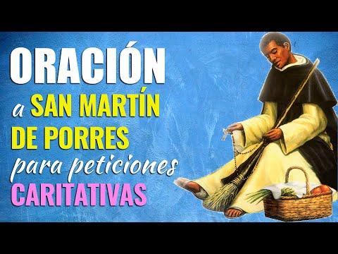 🙏 Oración para HACER PETICIONES CARITATIVAS a San Martín de Porres 👼