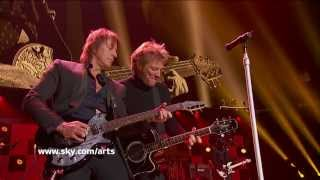 bon jovi wanted dead or alive madison square garden 2012