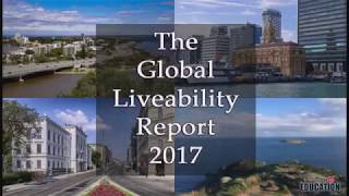 The Global Liveability Report 2017: Top 10 most liveable cities