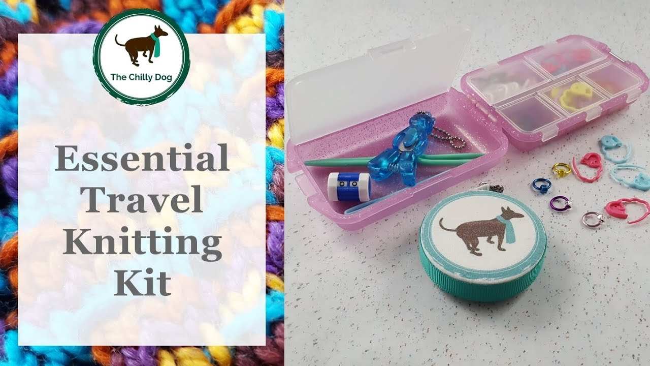 Travel Knitting Kit