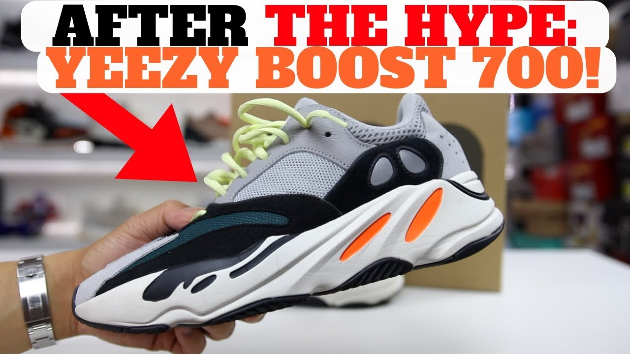 59815fd07 After THE HYPE adidas Yeezy Boost 700 Wave Runner PROS CONS - YouTube