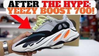 After THE HYPE adidas Yeezy Boost 700 Wave Runner PROS CONS