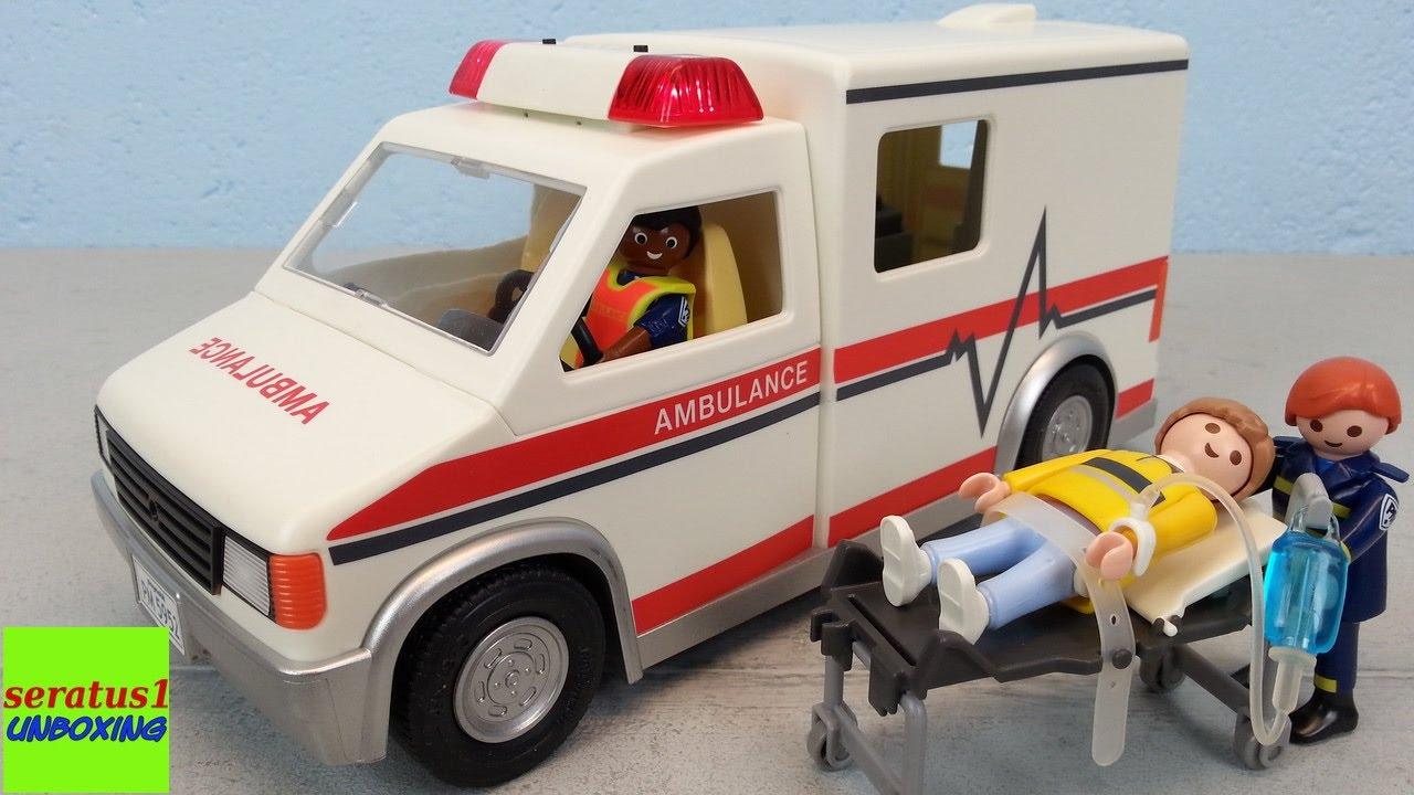 playmobil krankenwagen rescue ambulance auspacken seratus1. Black Bedroom Furniture Sets. Home Design Ideas