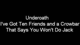 Play I've Got Ten Friends And A Crowbar That Says You Won't Do Jack
