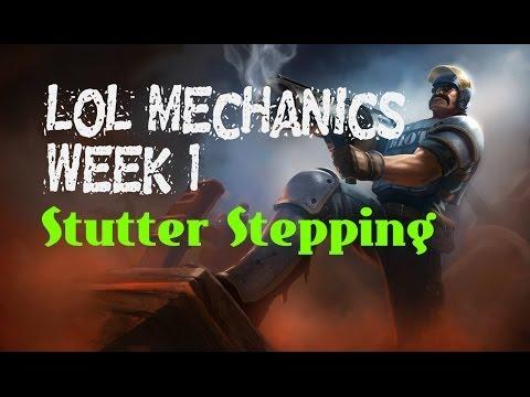 LoL Mechanics With Phrank #1: Stutter Stepping