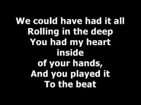Vazquez Sounds-Rolling In The Deep(LYRICS)