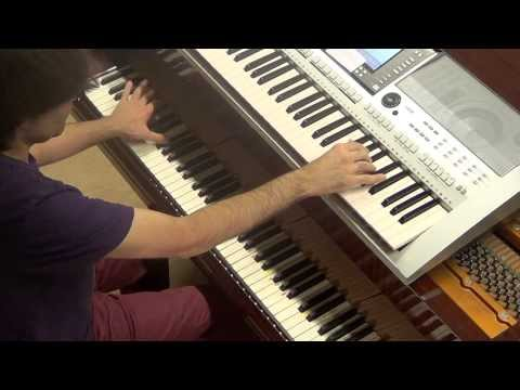 Avicii - Wake me up + You make me + Hey Brother + Levels + I could be the one - piano keyboard LIVE