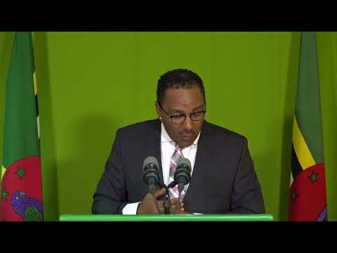 Nov. 17 - Press Briefing: Kenneth Darroux - Minister for Health