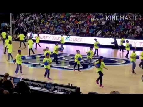 ODU Girls Basketball Game Half Time Show | Lady Monarchs | Sewells Point Elementary School