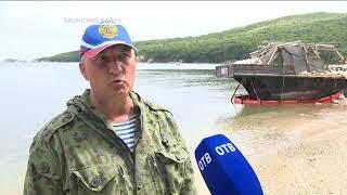 Корейские шхуны угрожают морскому заповеднику загрязнениями