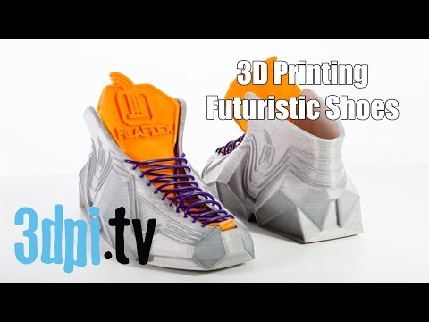 3D Printing Your Future Shoes with Filaflex