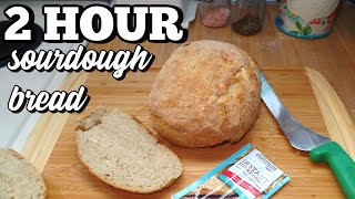 Easy Sourdough Bread Using Red Star Instant Sourdough Yeast Youtube