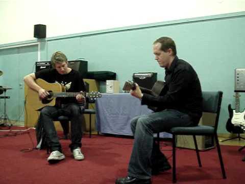Green Onions (acoustic guitar duet)