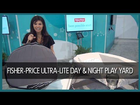 Fisher Price Ultra-Lite Day & Night Play Yard