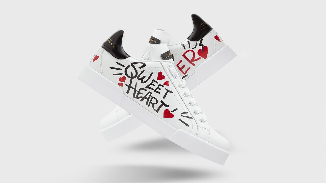 Dolce & Gabbana: #DGLimited sneakers voor Valentijnsdag