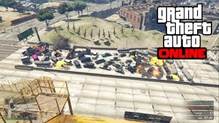 GTA 5 PS4 Online - Biggest Explosion Ever! (GTA 5 PS4 Online Funny Moments)