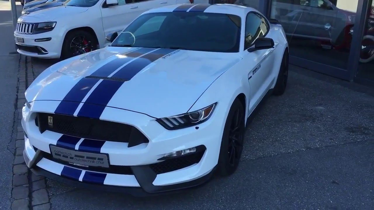 2016 ford mustang shelby gt350 weiss mit track pack youtube. Black Bedroom Furniture Sets. Home Design Ideas