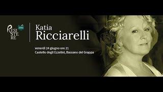 Katia Ricciarelli - Rassegna letteraria RESISTERE, Bassano del Grappa, 24 giugno 2016