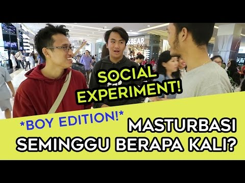 MASTURBASI SEMINGGU BERAPA KALI ? PRIVACY SOCIAL EXPERIMENT *BOY EDITION* | TWOLOL (LEO)