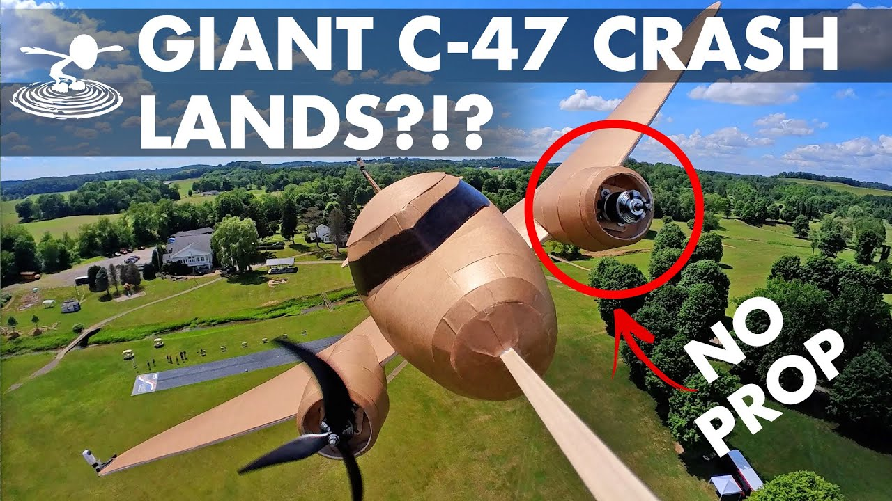 Download Giant C-47 Has A Rough Day