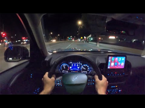 2021 Ford Bronco Sport Outer Banks POV Night Drive (3D Audio)(ASMR)