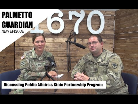 State Partnership Program with the South Carolina National Guard #SCGuard #SPP