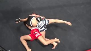 BRAVE FIGHT 14▼第一試合BRAVE FIGHT MMA 47㎏以下契約 5分2R 桐生祐子 検索動画 3