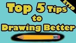 Top 5 Mistakes by New Artists - Easy Things to Draw